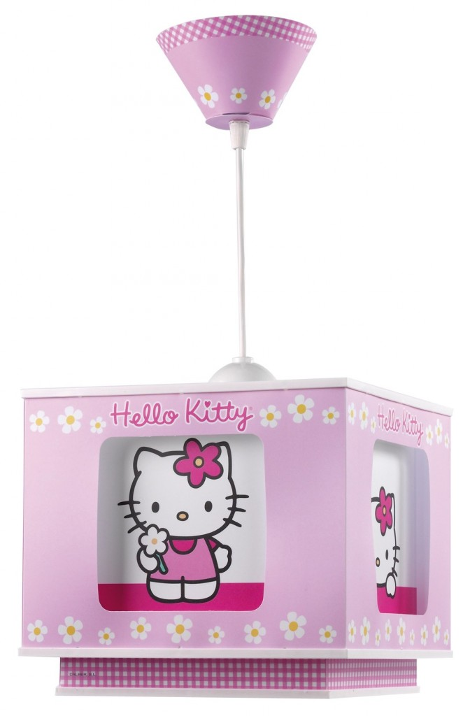luminaire hello kitty rose